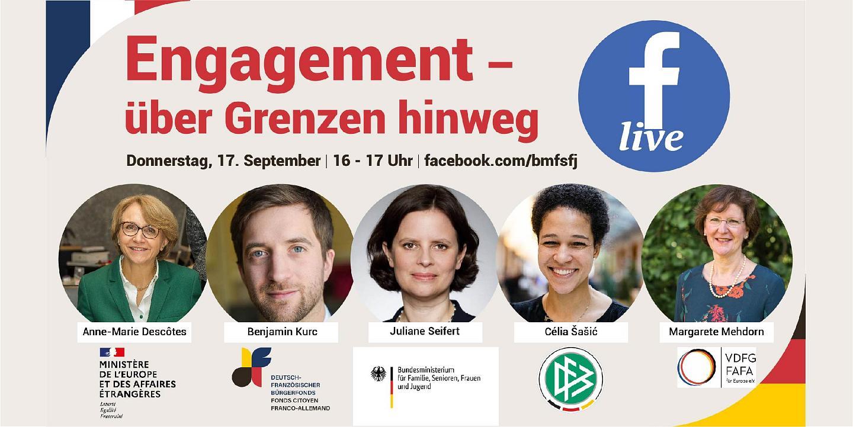 Facebook Live: Engagement über Grenzen hinweg