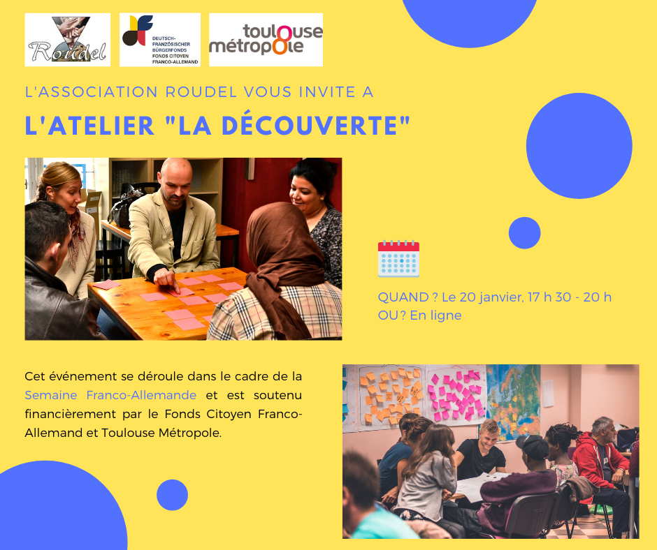 "L'animation interculturelle - Atelier      ""La découverte"""